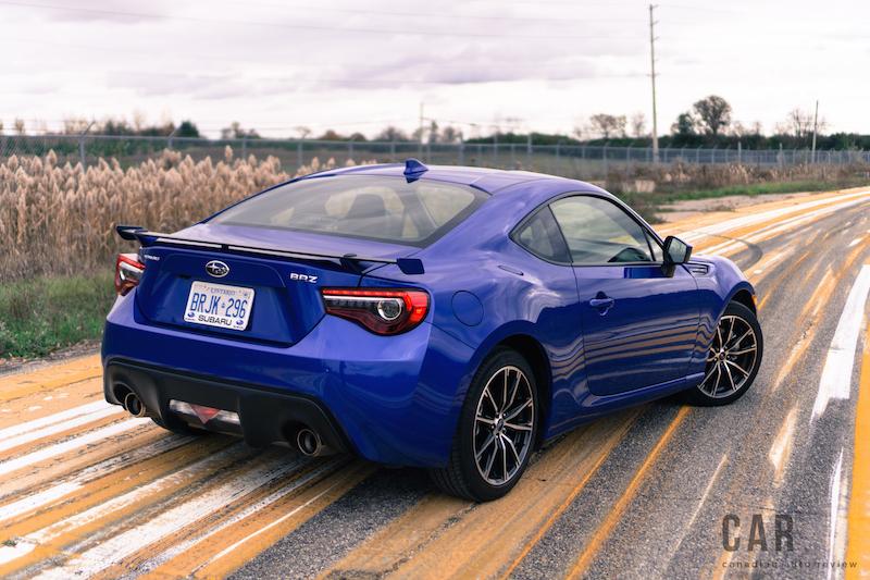 Review 2017 Subaru Brz Sport Tech Canadian Auto Review