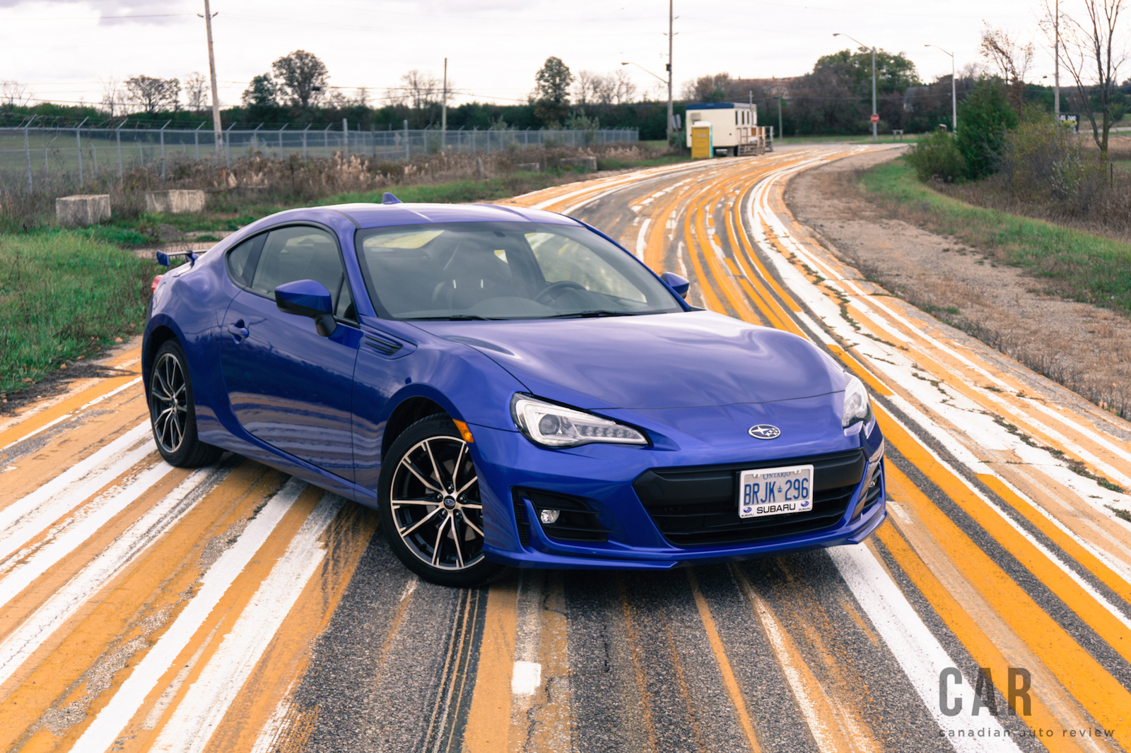 Review 2017 Subaru Brz Sport Tech Canadian Auto Review