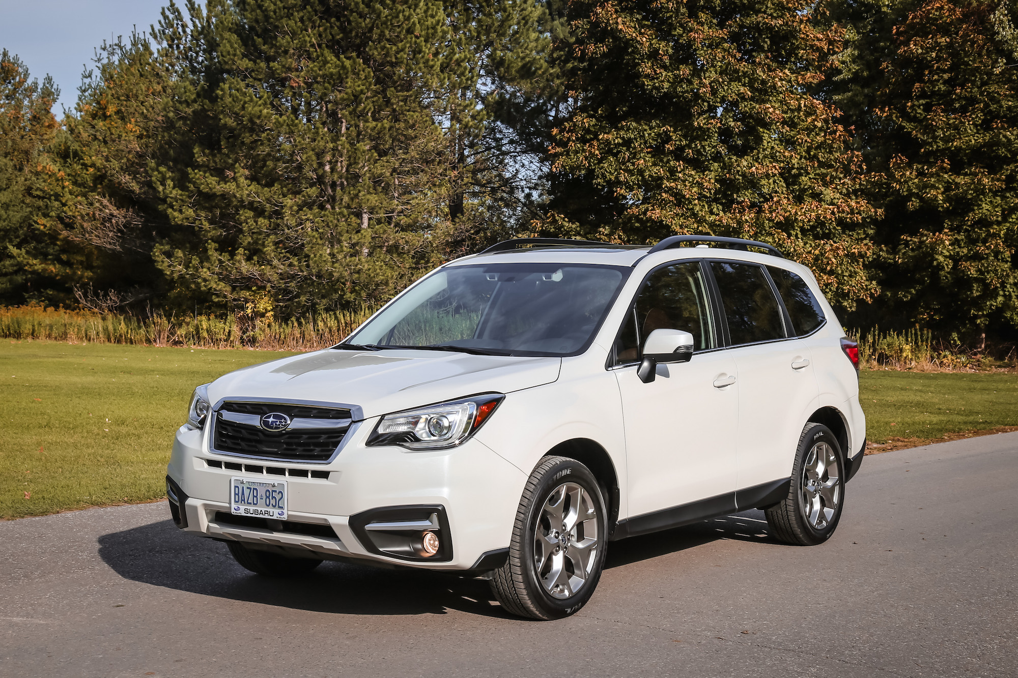 2017 Subaru Forester Transmission >> 2017 富士 Forester 2.5i Limited | Canadian Auto Review