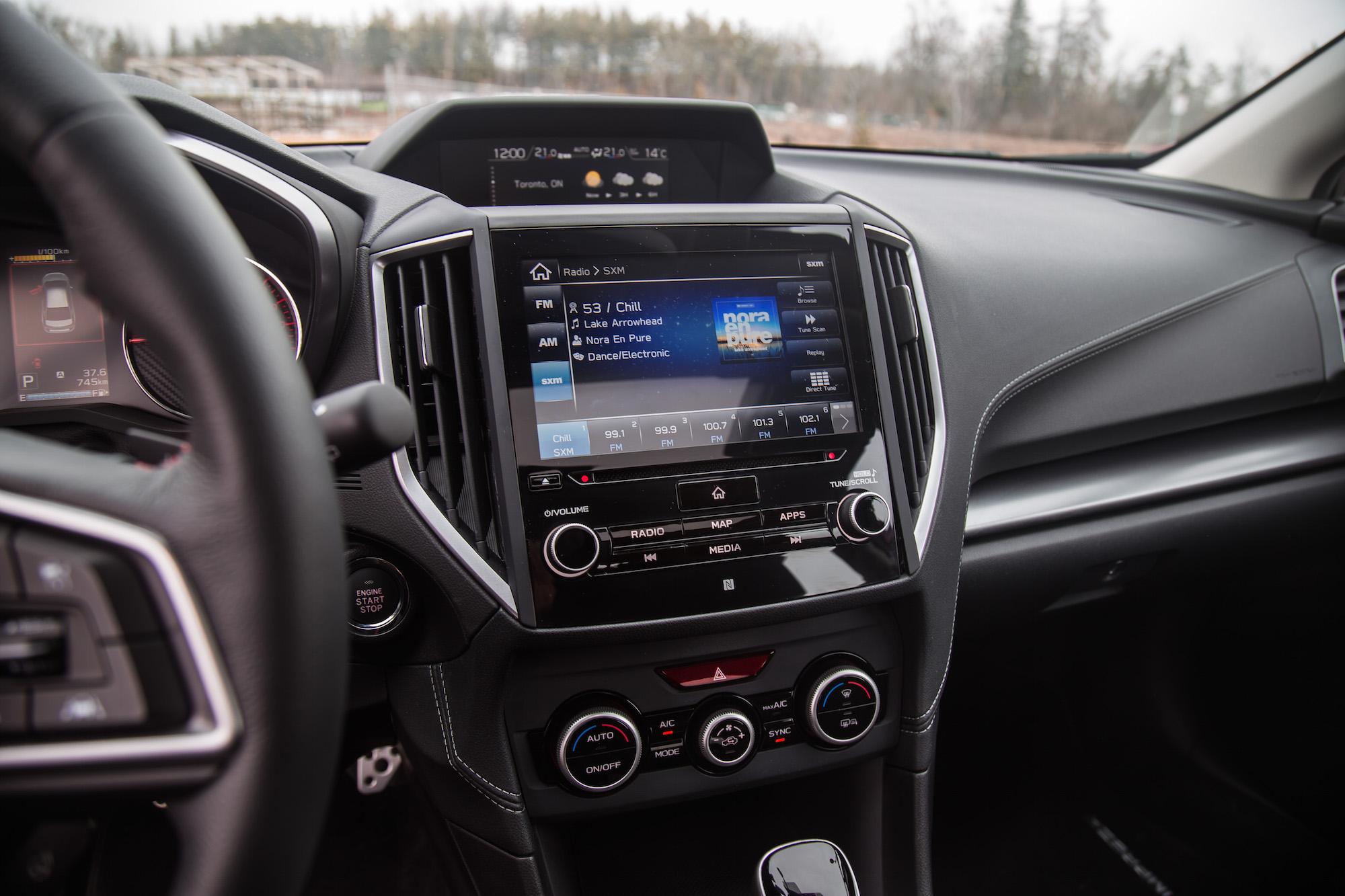 Review 2017 Subaru Impreza Sport Tech Canadian Auto Review