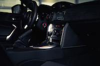 2017 Toyota 86 center console black