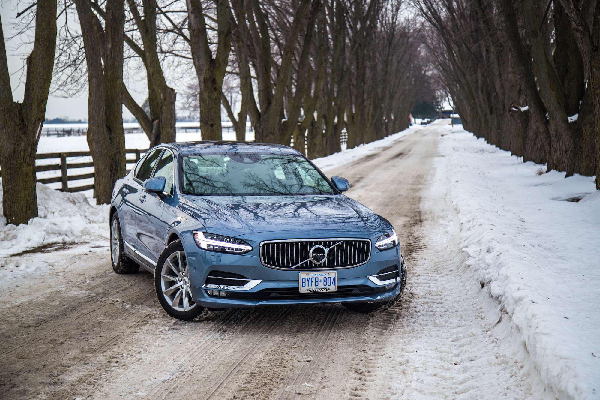 Review 2017 Volvo S90 T6 Awd Inscription Canadian Auto