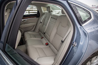 volvo s90 rear seats legroom