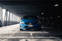 2017 Volvo V60 Polestar rebel blue