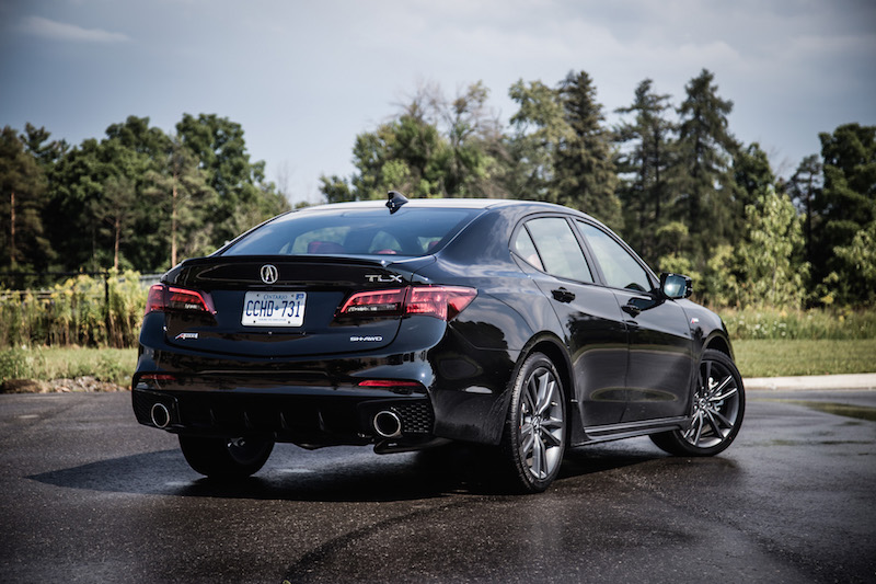 review 2018 acura tlx a spec canadian auto review. Black Bedroom Furniture Sets. Home Design Ideas