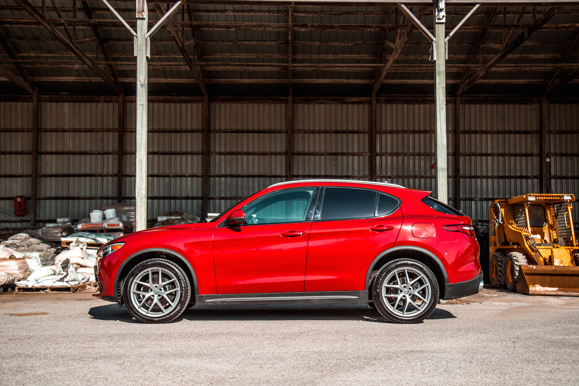 Review 2018 Alfa Romeo Stelvio Ti Sport Canadian Auto Review