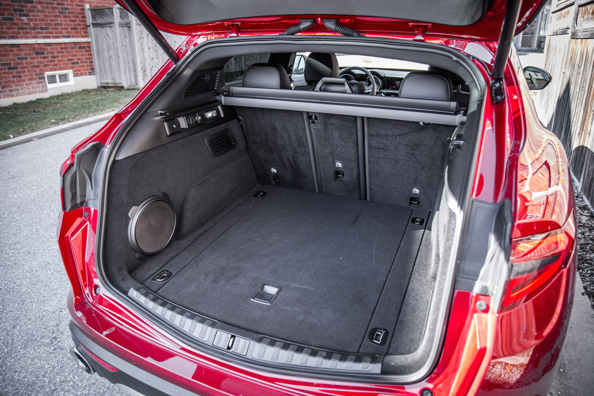 Car Trunk Storage >> Review: 2018 Alfa Romeo Stelvio Ti Sport | Canadian Auto ...