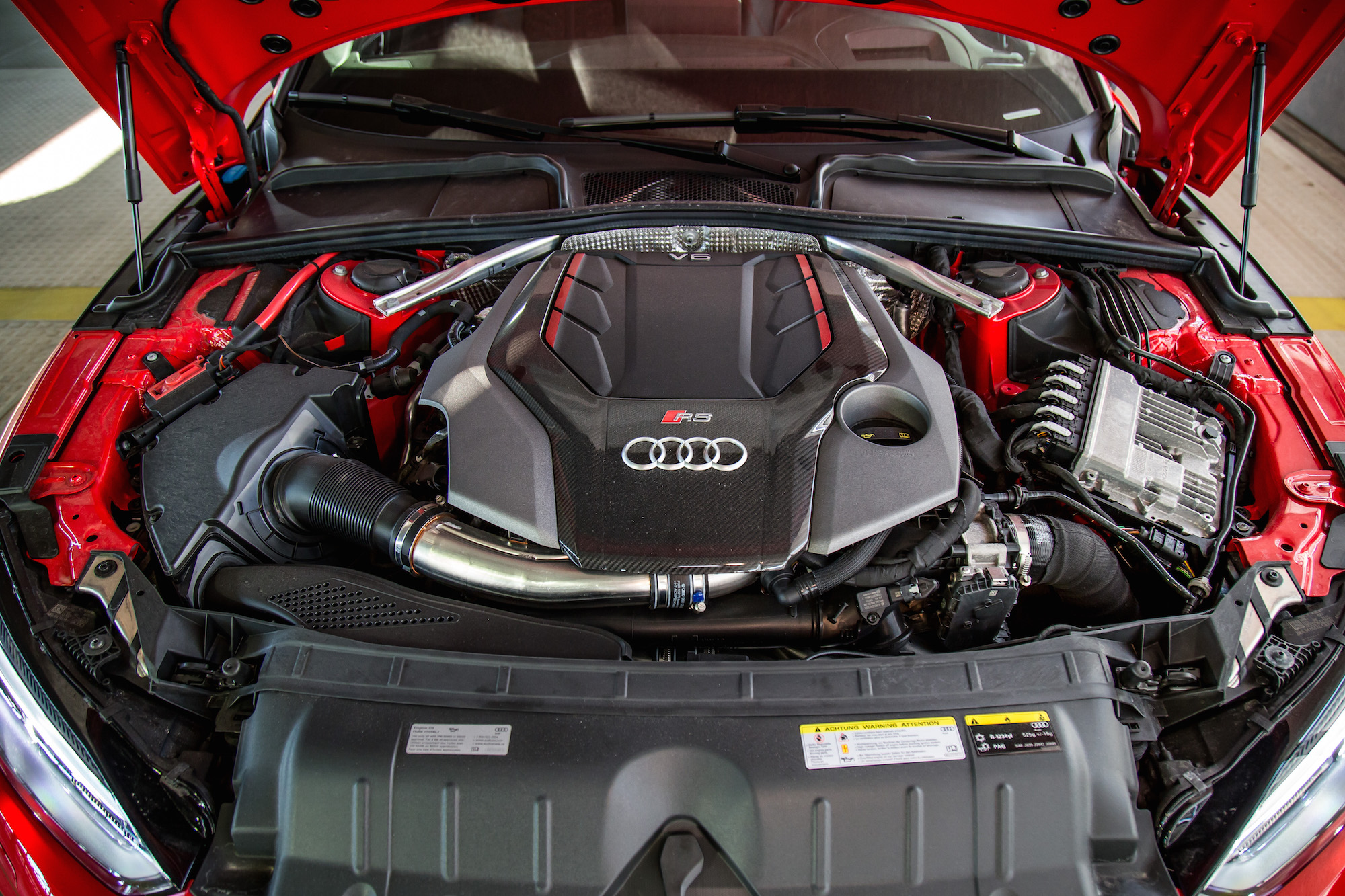 Audi rs5 curb weight