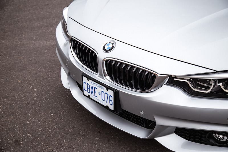 2018 BMW 440i xDrive 4 Series new front bumper