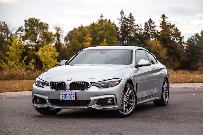 2018 BMW 440i xDrive 4 Series glacier silver metallic