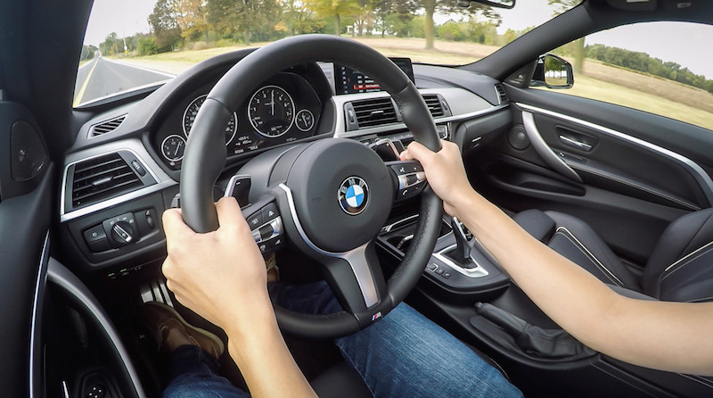 2018 BMW 440i xDrive 4 Series pov driving