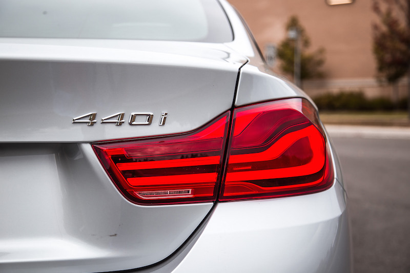 2018 BMW 440i xDrive 4 Series new rear lights