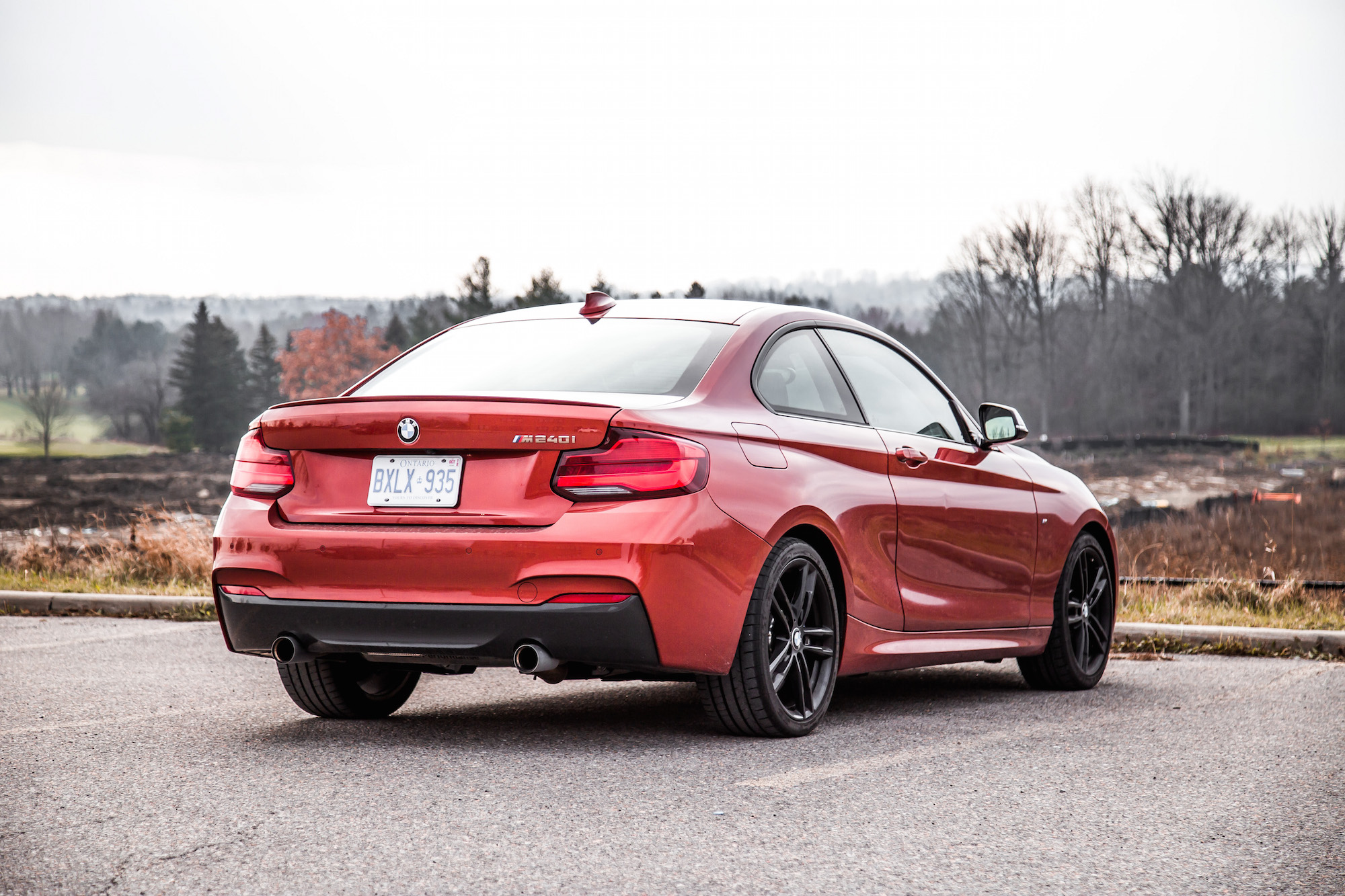 review 2018 bmw m240i coupe canadian auto review. Black Bedroom Furniture Sets. Home Design Ideas