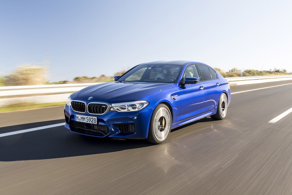 2018 bmw m5 first drive review canada new