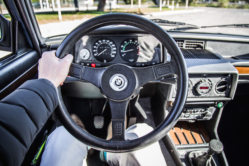 BMW f12 m535i steering wheel interior