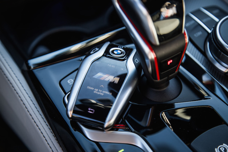 2018 BMW M5 display key