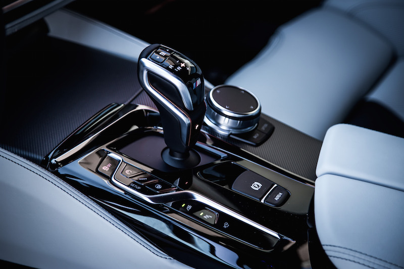 2018 BMW M5 gear shifter new