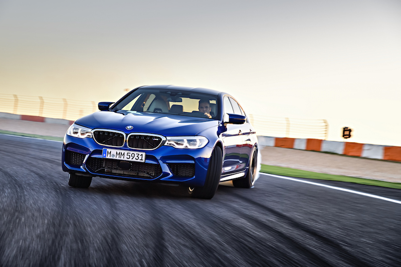 2018 BMW M5 F90 autodromo do estoril track circuit