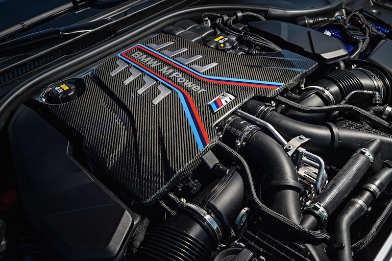2018 BMW M5 F90 carbon cover