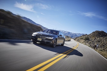 2018 BMW M760Li xDrive car to car
