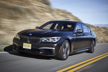 2018 BMW M760Li xDrive frozen dark brown