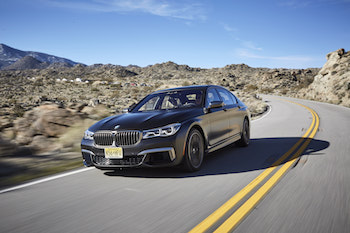 2018 BMW M760Li xDrive driving