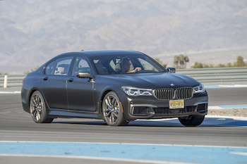BMW M760Li xDrive Thermal Club Raceway hot lap