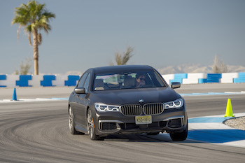 BMW M760Li xDrive Thermal Club Raceway palm springs
