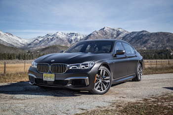 BMW M760Li xDrive frozen dark brown metallic