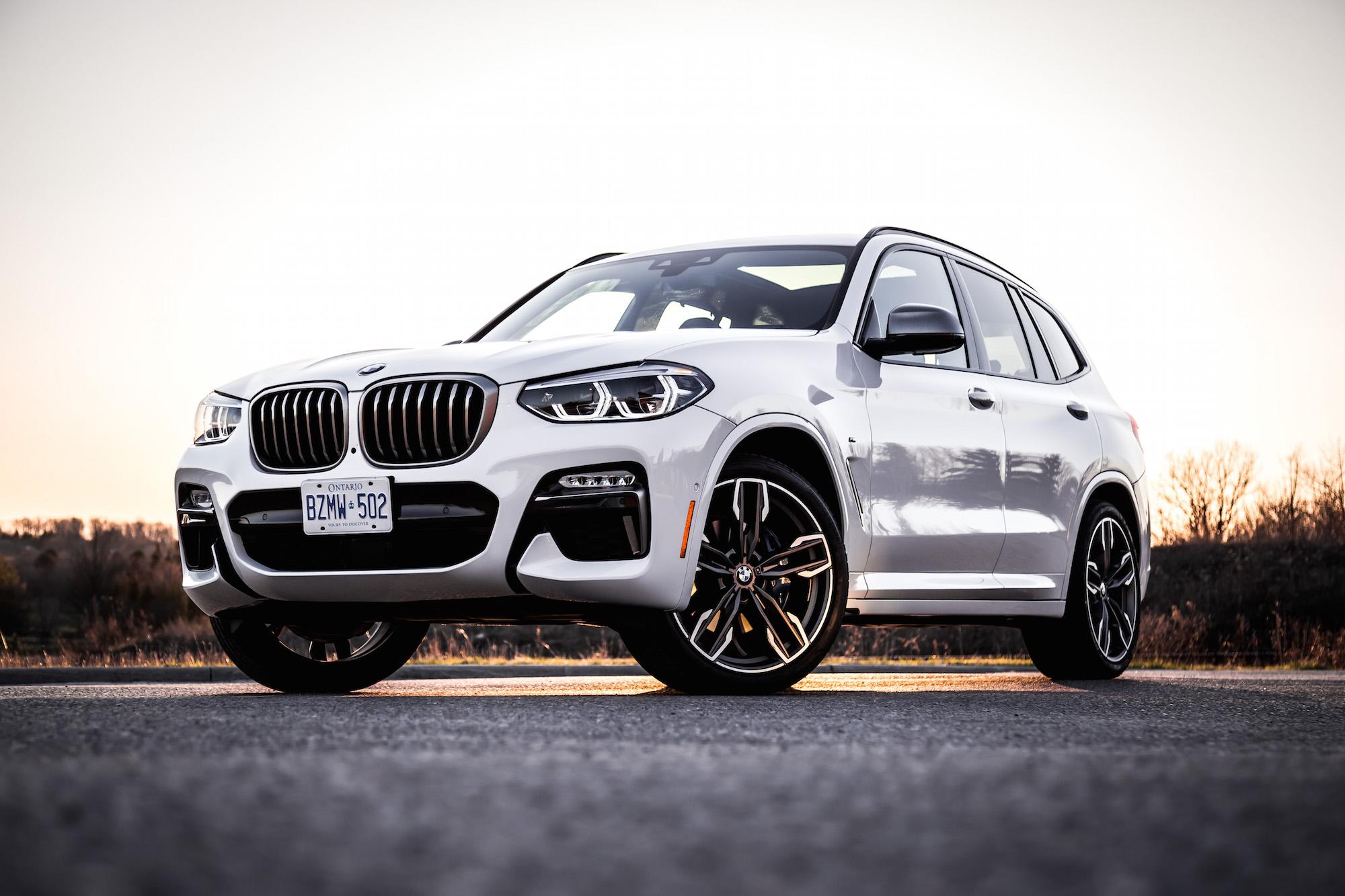 2018 BMW X3 M40i White Canada