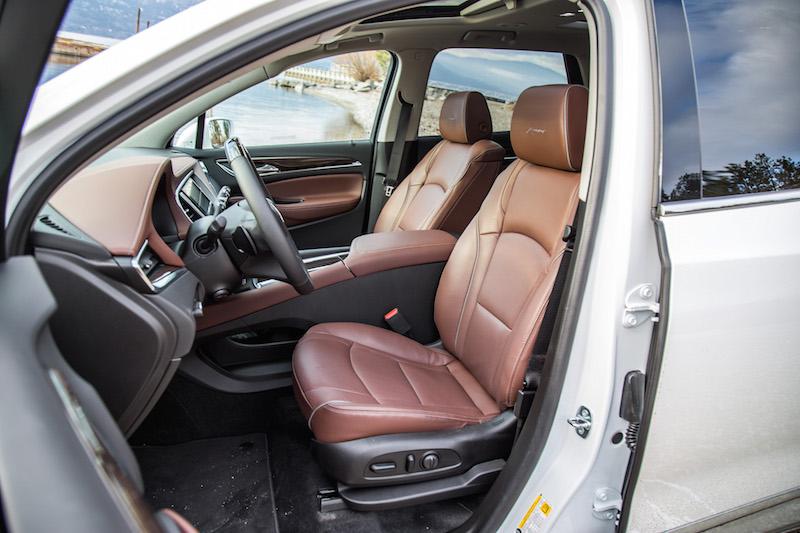 2018 buick enclave avenir first drive canadian auto review. Black Bedroom Furniture Sets. Home Design Ideas
