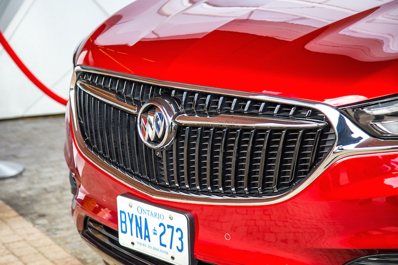2018 Buick Enclave front grill