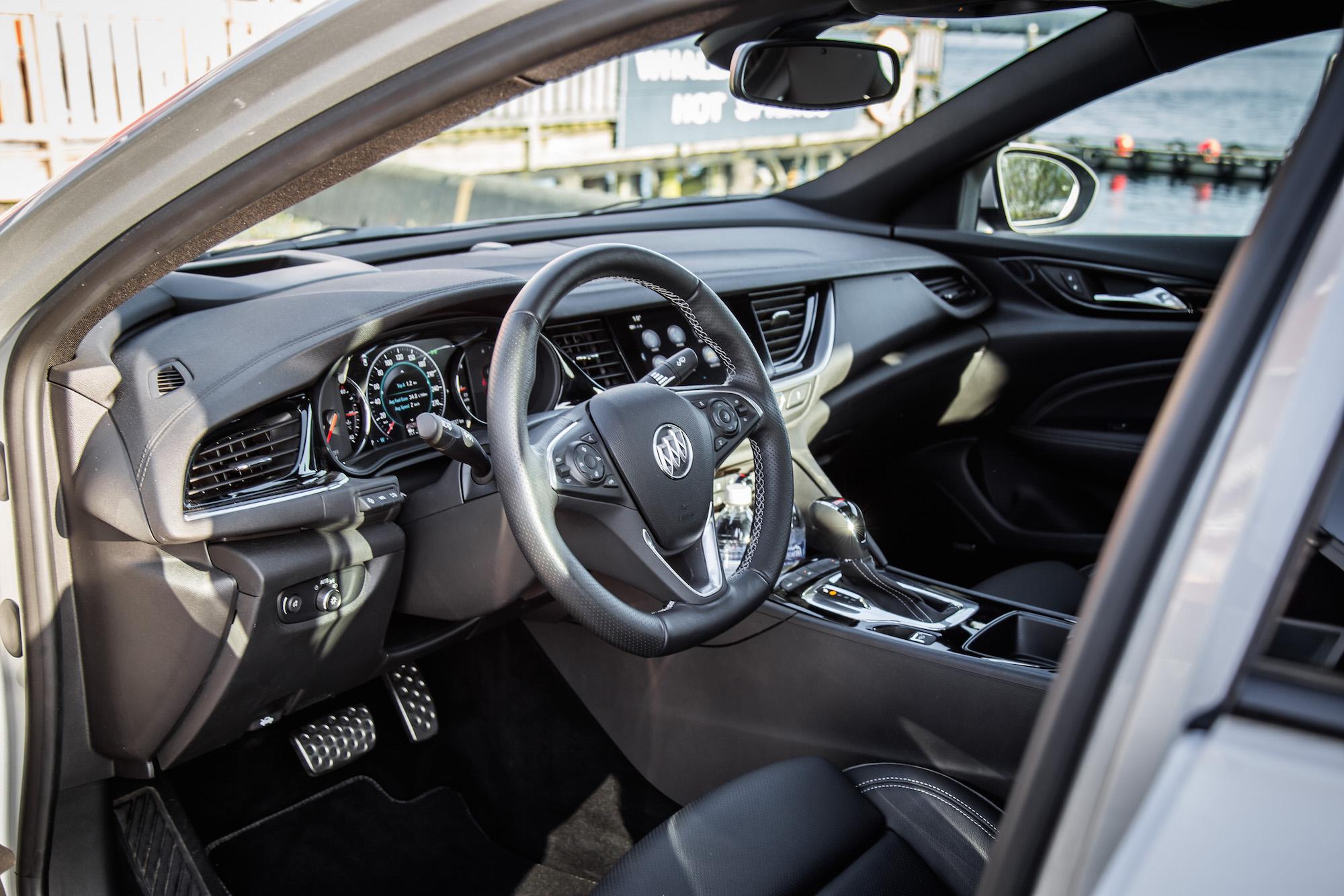2018 Buick Regal Sportback Gs First Drive Car