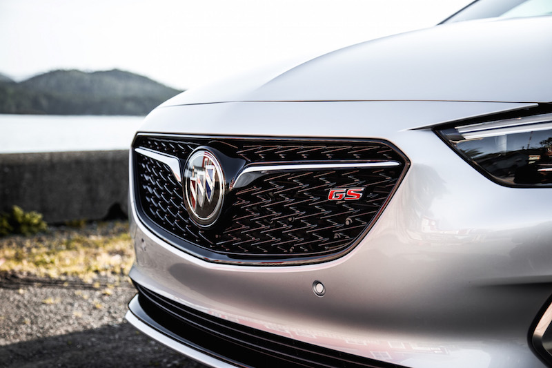 2018 Buick Regal GS new front grill