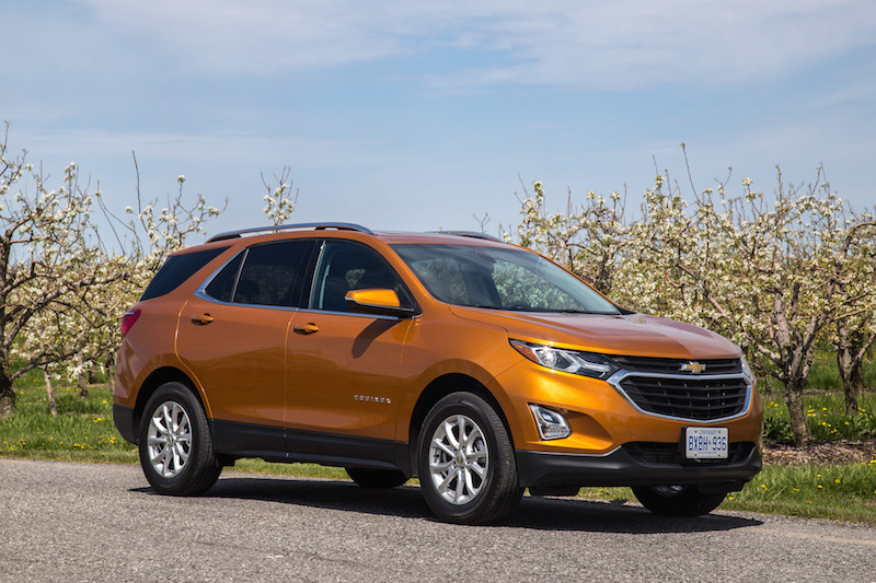 2018 Chevrolet Equinox orange paint