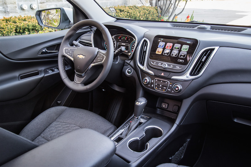 2018 Chevrolet Equinox interior black