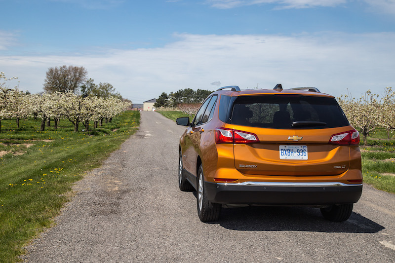 2018 Chevrolet Equinox niagara winery
