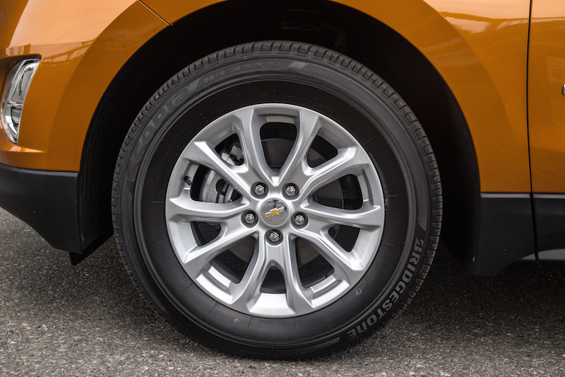 2018 Chevrolet Equinox wheels tires