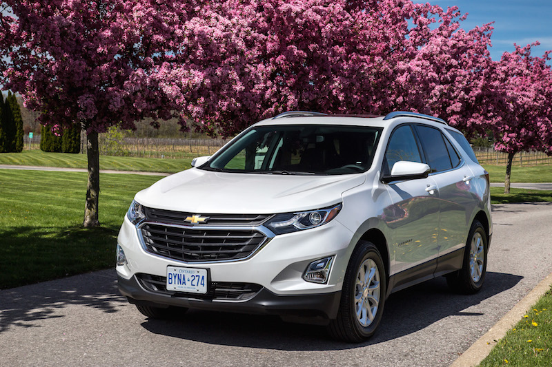 2018 Chevrolet Equinox trees