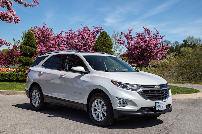 2018 Chevrolet Equinox changes exterior