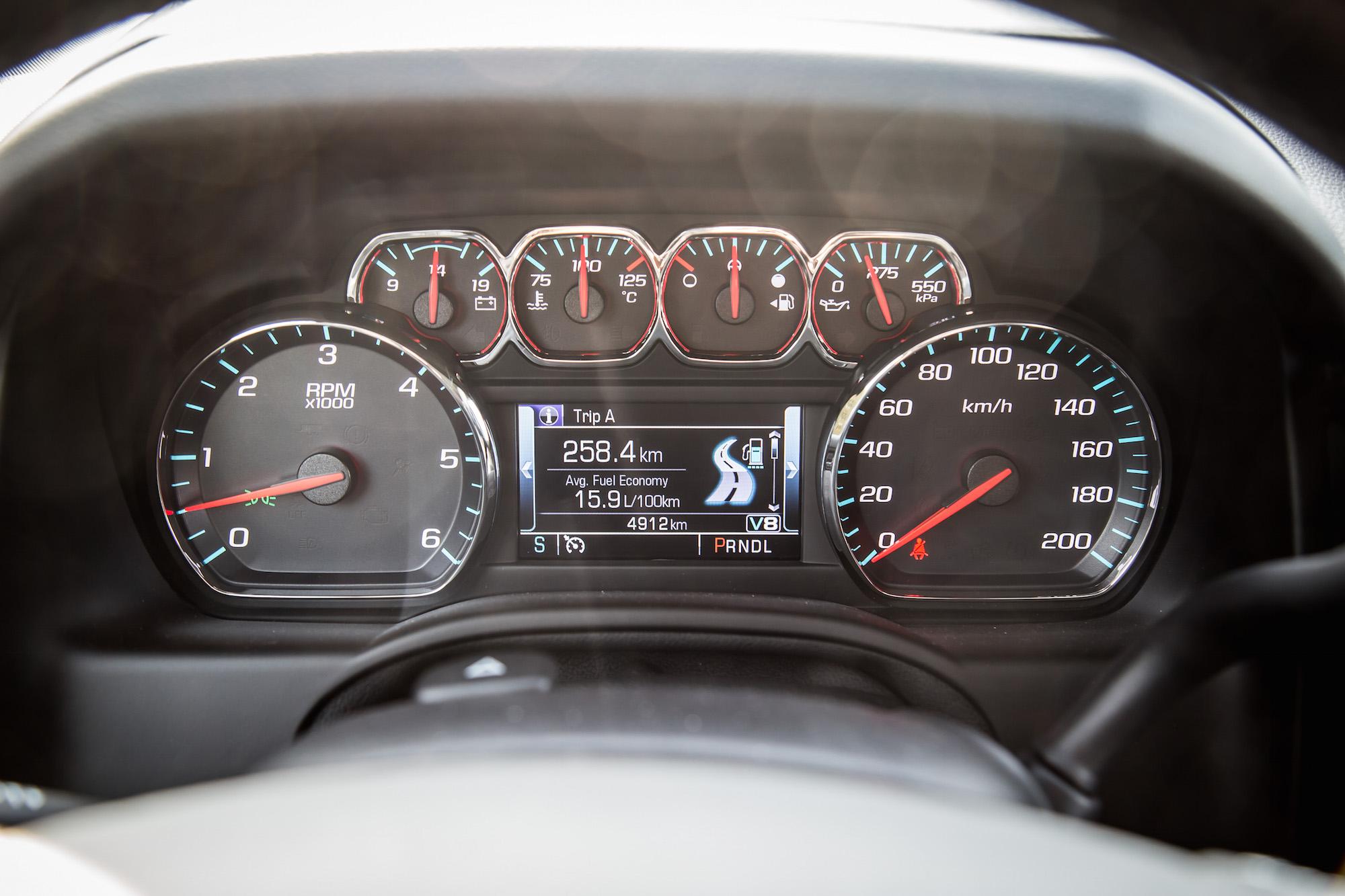 Tahoe Rst Gauges on Cadillac 4100 Engine Upgrades