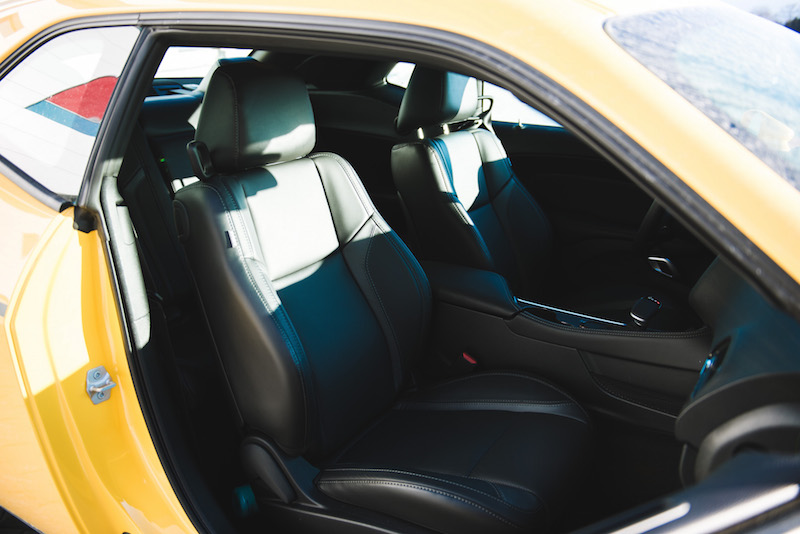 2018 Dodge Challenger GT front seats