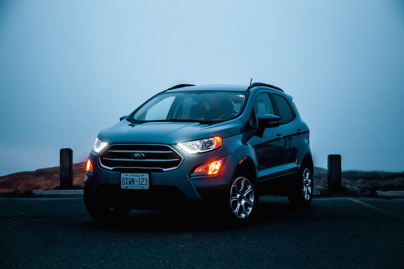 2018 Ford EcoSport candy blue