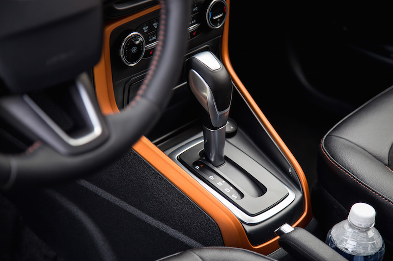 2018 Ford EcoSport gear shifter