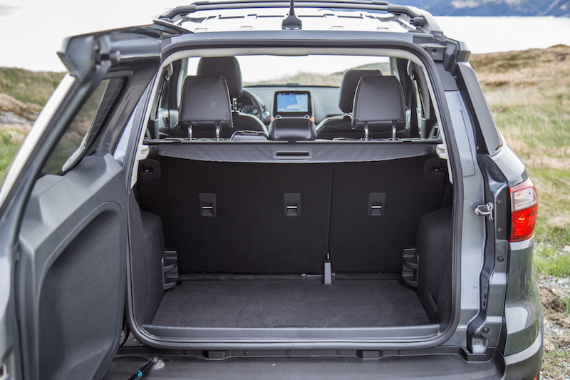 2018 Ford EcoSport trunk cargo space