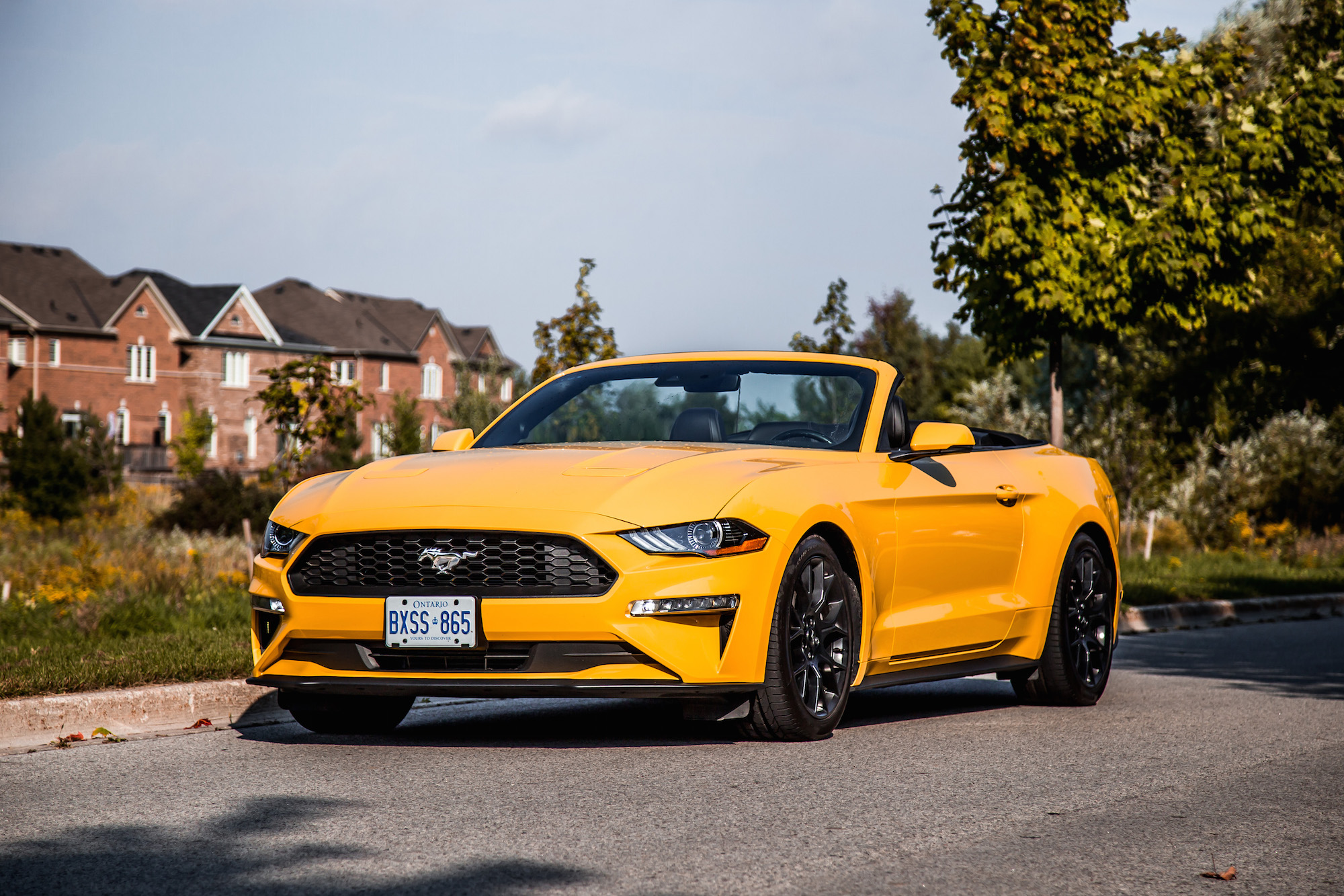 Review 2018 Ford Mustang Ecoboost Convertible Car
