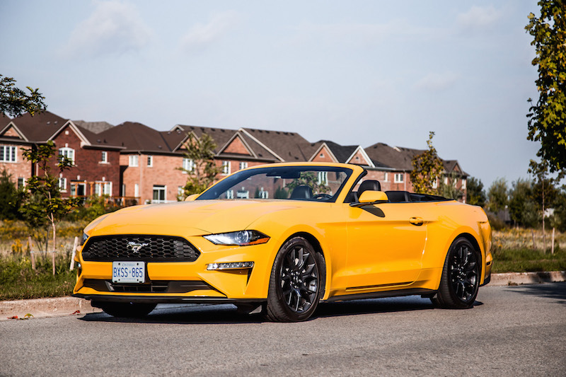 2018 Ford Mustang EcoBoost Convertible canada