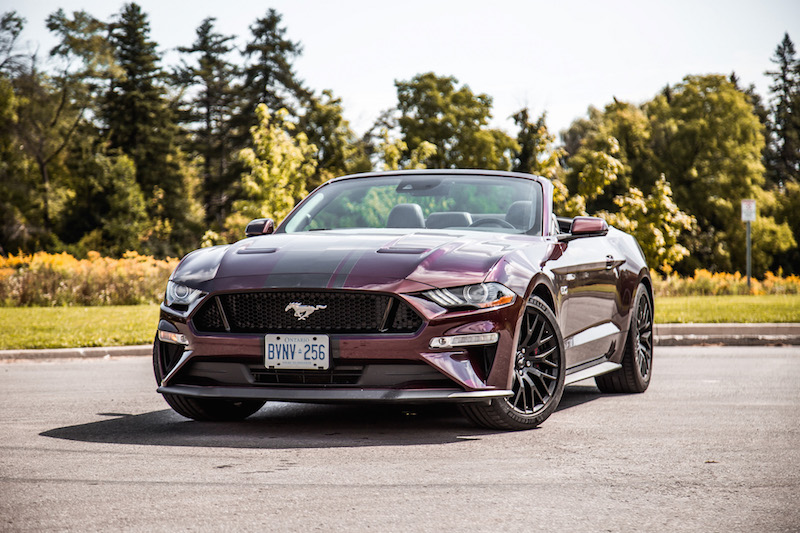 2018 Ford Mustang GT Convertible front