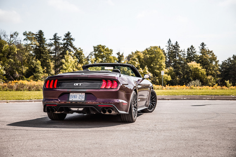 2018 Ford Mustang GT Convertible spoiler delete
