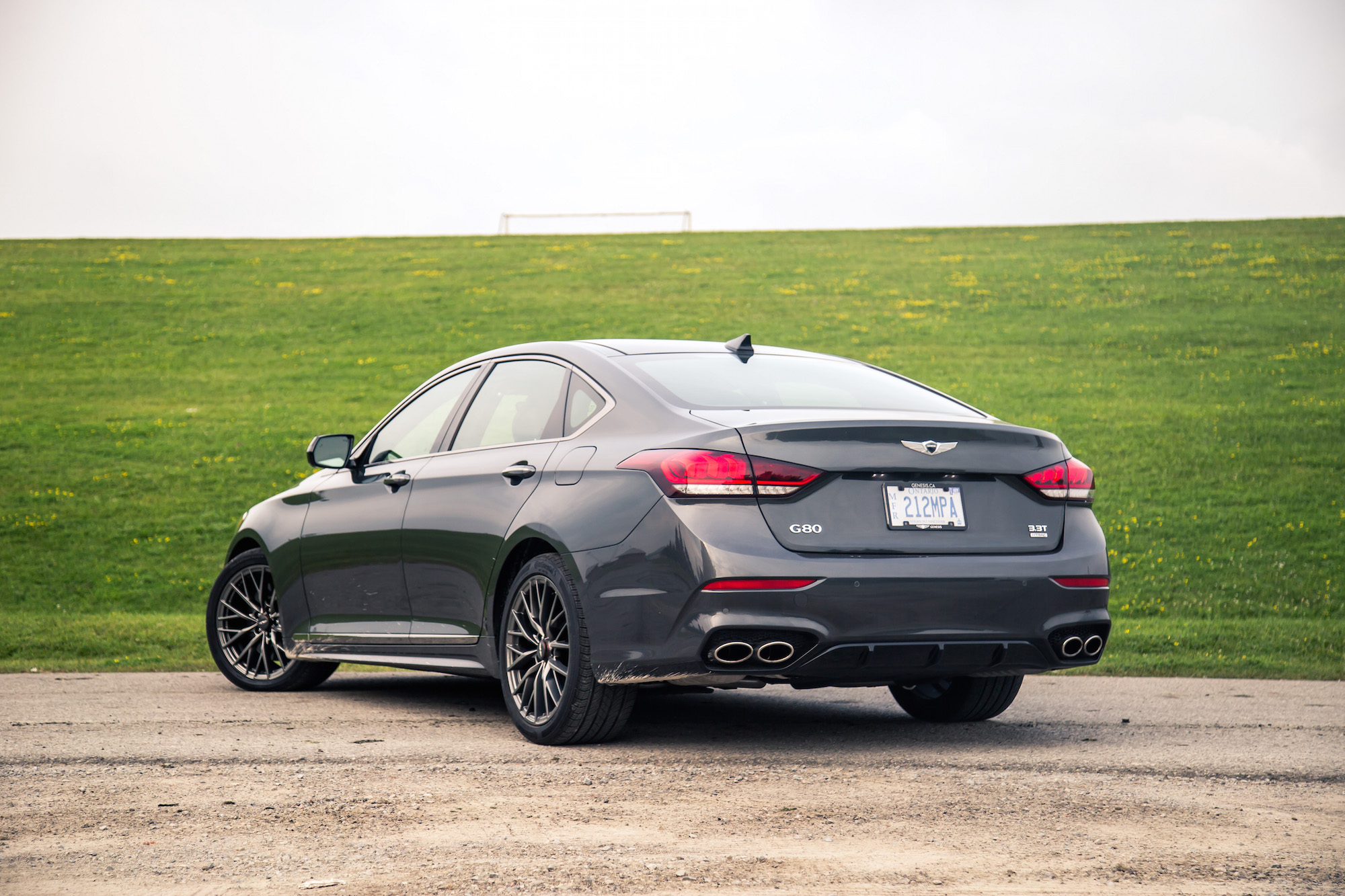review 2018 genesis g80 sport canadian auto review. Black Bedroom Furniture Sets. Home Design Ideas